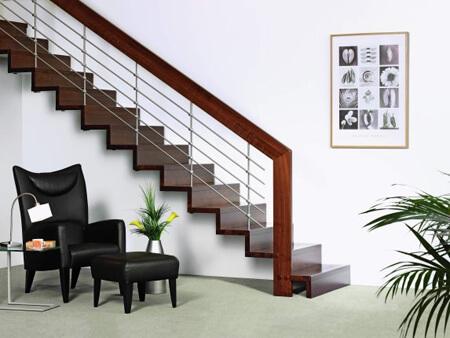 Фото облицовки лестницы