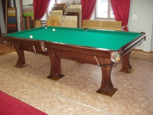 Бильярдный стол, русский 10 футов, из ясеня под тонировкой
