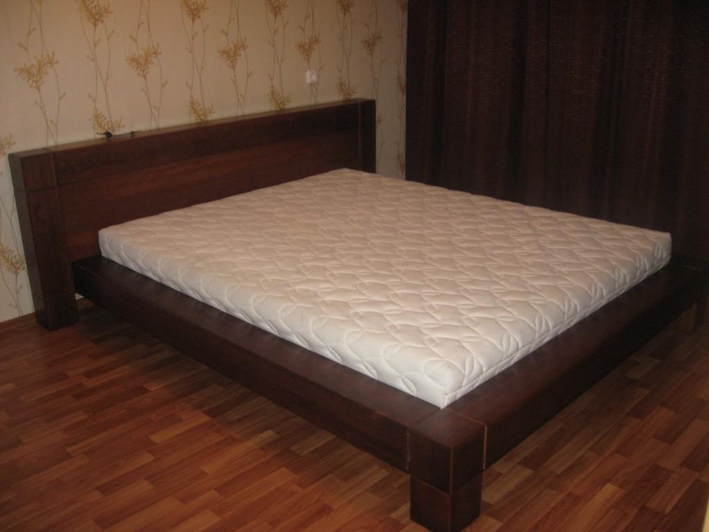 Кровать из бруса сечением 150 мм