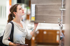 Процесс выбора мебели из массива