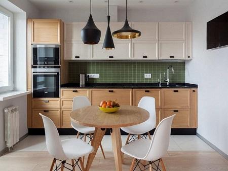 Как выглядят кухни из дерева